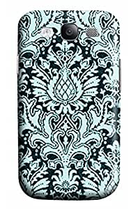 CaseandHome Classical Green Floral Pattern Design PC Material Hard Case For Samsung Galaxy S3 I9300