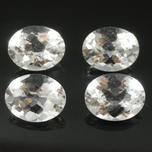 Natural White Topaz Oval 9x7mm Approximately 9.00 Carat Loose Gemstone (526)