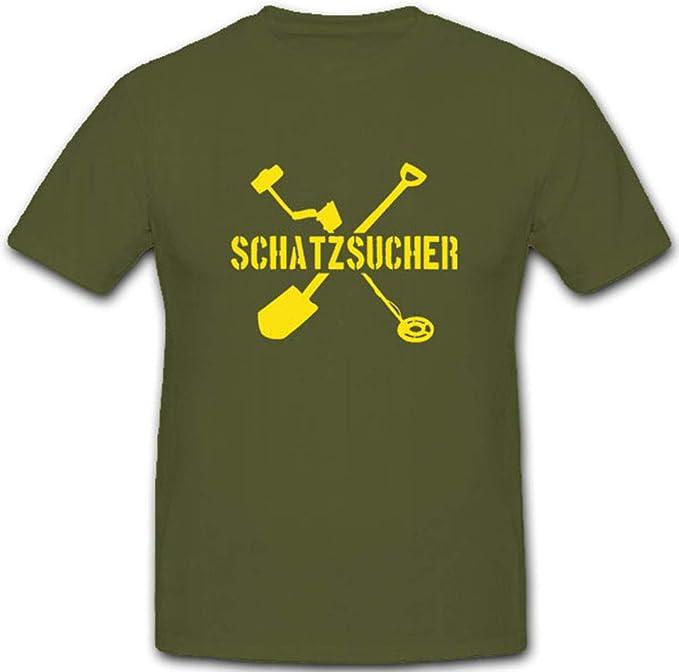 buscadores Detector de metales Pala buddeln del tesoro Hobby – Camiseta # 3985: Amazon.es: Ropa y accesorios