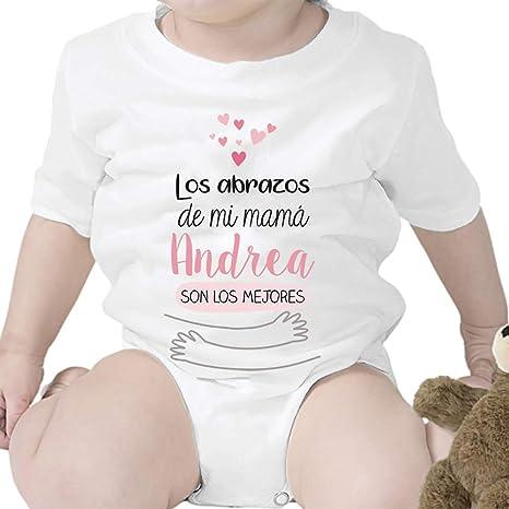 Regalos Bebe Personalizados Amazon.Regalo Personalizado Body Para Bebe Abrazos De Mi Mama Personalizable Con Nombre