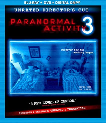 Amazon Com Paranormal Activity 3 Blu Ray Dvd Digital Copy Combo In Blu Ray Packaging Katie Featherston Tod Williams Movies Tv