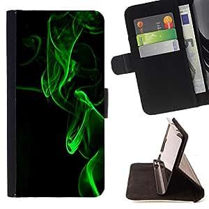 /Skull Market/ - BLACK LASER LIGHT GREEN FOG NIGHT BLACK For Samsung Galaxy S3 III I9300 - Caja de la carpeta del tir???¡¯???€????€??????&ac