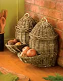 Potato & Onion Baskets, Countertop Set of 2