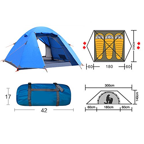ANGIX-Waterproof-Backpacking-Tent-2-3-Person-Lightweight-  sc 1 st  Discount Tents For Sale & ANGIX Waterproof Backpacking Tent 2-3 Person Lightweight with ...