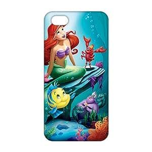 Slim Thin 3D Cartoon Little MERMAID For SamSung Galaxy S5 Mini Phone Case Cover