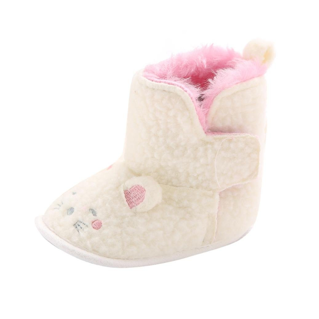 TM Infant Baby Boy Girl Cartoon Soft Sole Snow Boots Crib Shoes Boots Elevin