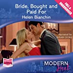 Bride, Bought and Paid For   Helen Bianchin