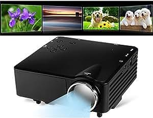 Soporte LED TS-29 mini proyector 1920 * 1080P HD Video (Negro)