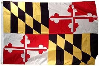 product image for Maryland Flag 8X12 Foot SolarMax Nylon