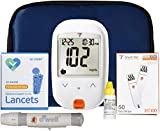 Best Diabetes Testing Kits - Blood Glucose Testing Kit with 50 Refills Review