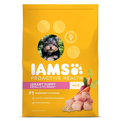IAMS PROACTIVE HEALTH Smart Puppy Small and Toy Breed Dry Puppy Food 6 Pounds