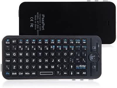 Teclado Bluetooth Kingzer + Air Mouse + mando a distancia + caso para Apple TV Box: Amazon.es: Electrónica