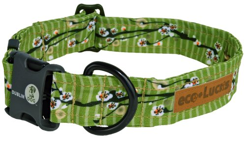 "eco-Lucks Dog Collar, Egg Roll, Medium 12"" x 20"""