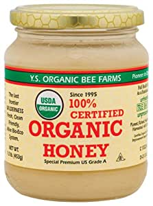 YS Organic Bee Farms - Organic Honey, 16 oz gel