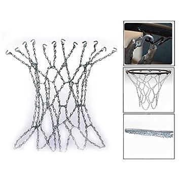 Itian Red de baloncesto de acero: Amazon.es: Electrónica