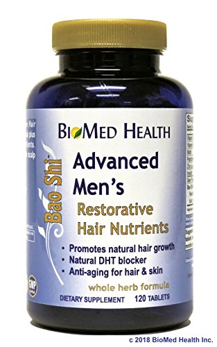 BioMed Health Advanced Men's Bao Shi Hair Nutrients 120 tablets