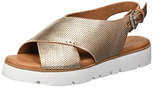 (Gentle Souls by Kenneth Cole Women's Kiki Platform Slingback Sandal Sandal, rose gold, 9.5 M US)