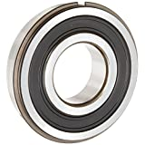 ORS 6205 2RS NR C3 Deep Groove Ball Bearing, Single Row, Double Sealed, Snap Ring, Steel Cage, C3 Clearance, ABEC 1 Precision, 25mm Bore, 52mm OD, 15mm Width