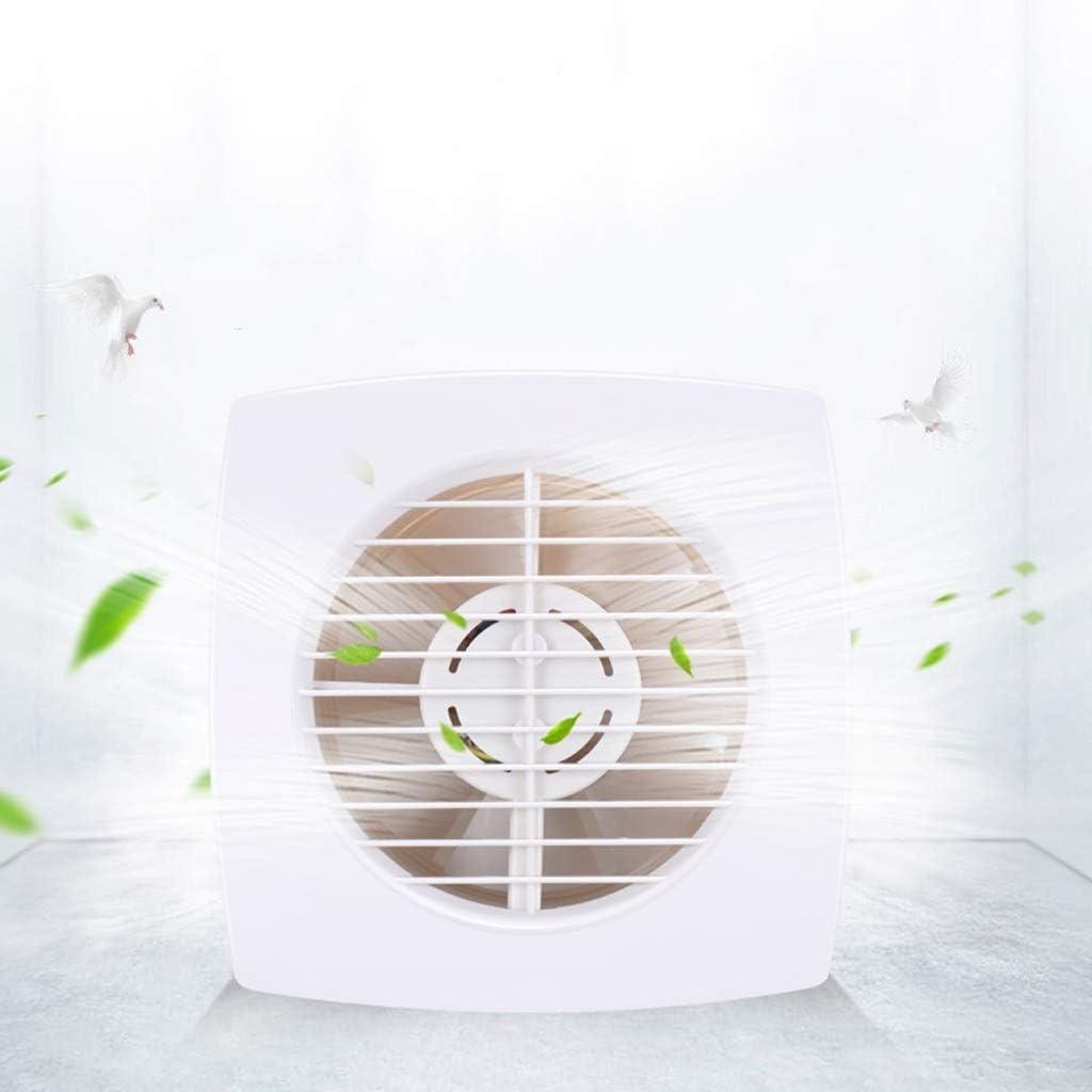 Extractor De Baño, Ventilador de extractor de baño, ventilador de extractor de cocina 4 pulgadas Baño/ventilador de cocina Ventana fuerte/pared Muga Redonda Hogar