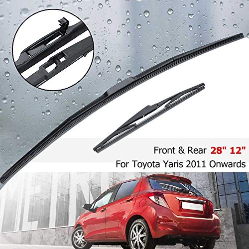 Toyta Corolla Verso Models 2004 To 2009 Full Set Of Windscreen Wiper Blades 261612 Front and Rear RA