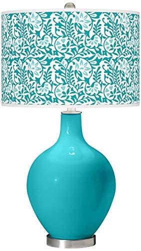 Surfer Blue Gardenia OVO Table Lamp - Color + Plus ()