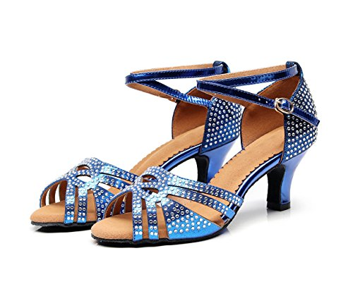 Donna Heel Minitoo Sala Da Royal Minishionus Blue qj7152 6cm CUq7pq
