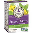 Traditional Medicinals Organic Smooth Move PeppermintLaxative Tea, 16 Tea Bags (Pack of 6)