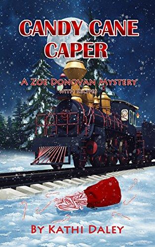 book cover of Candy Cane Caper