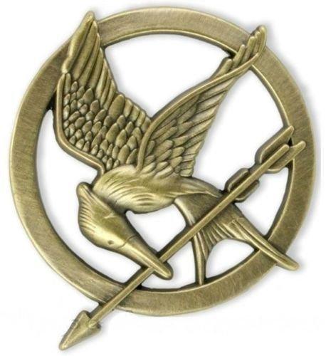 (The Hunger Games Katniss Everdeen Cosplay Prop Mockingjay Pin Brooch)