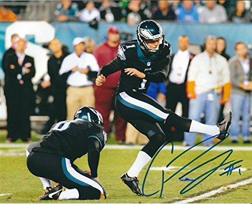 Signed Cody Parkey 8x10 Photo Philadelphia Eagles - Certified Autograph