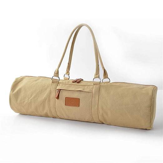 Completo Zip Ejercicio Yoga Mat Sling Bag Más Lenient ...