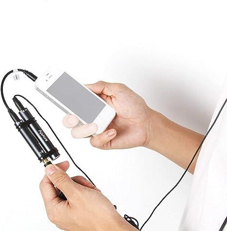 Aputure A. lav omnidireccional micrófono de condensador lavalier ...