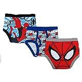 Marvel Boys 3 Pack Spiderman Underwear - Toddler 5T