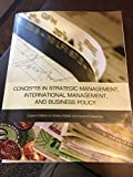 img - for Concepts in Strategic Management, International Management, and Business Policy book / textbook / text book
