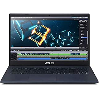 "CUK VivoBook K571 by ASUS 15 inch Gaming Laptop (Intel Core i7, 16GB RAM, 256GB NVMe SSD + 1TB HDD, NVIDIA GeForce GTX 1650 Ti 4GB, 15.6"" FHD, Windows 10 Home) Thin Notebook Computer"