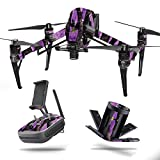 Cheap MightySkins Skin for DJI Inspire 2 – Purple Tree Camo | Protective, Durable, and Unique Vinyl Decal wrap Cover | Easy to Apply, Remove, and Change Styles | Made in The USA