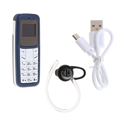 Amazon.com: BM30 - Mini teléfono móvil con tarjeta SIM TF ...
