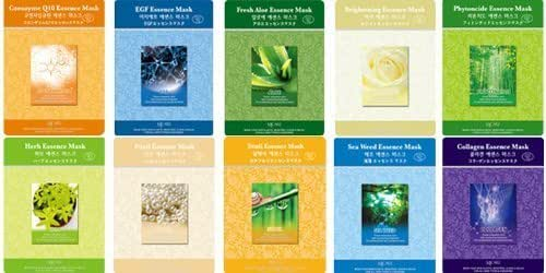 Essence Mask Combo - 10 Different Kind Of Our Natural Essence Mask Combo
