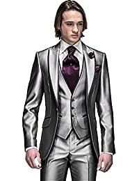 Amazon.com: Silver - Suits & Sport Coats / Clothing: Clothing