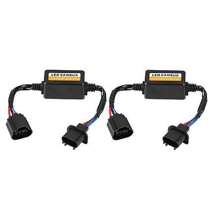 Amazon com: Qiilu Premium Quality Headlight Decoder for H13 9008 LED