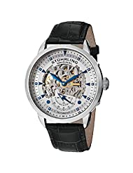 Stuhrling Original Men's 133.33152 Symphony Aristocrat Executive Automatic Skeleton Silverstone Dial Watch