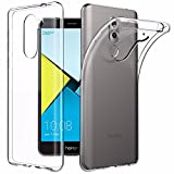 Honor 6X Case, EasyAcc Huawei Honor 6X 5.5'' Soft TPU Case Crystal Clear Transparent Slim Anti Slip Case Back Protector Cover Shockproof for Honor 6X