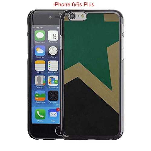 fan products of iPhone 6 Plus Case, iPhone 6S Plus Cases, Dallas Hockey Team logo 62 Drop Protection Never Fade Anti Slip Scratchproof Black Hard Plastic Case