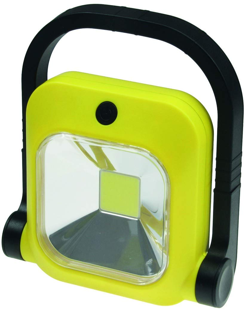 ChiliTec LED Baustrahler mit Akku 1x 20W LED 230V 1600 Lumen 4500K // neutralwei/ß