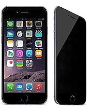 حامي شاشة بقوة حماية زجاجية مقاوم للكسر غامق للحفاظ على الخصوصية لجوال ايفون7 بلس