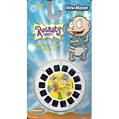 Nickelodeon Rugrats, Reptar & Baby Dill 3D View-Master 3 Reel Set: Toys & Games