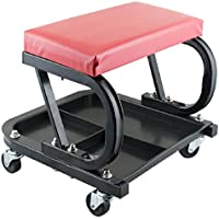 Tinsay Rolling Creeper Seat Mechanic Stool Chair Repair Tools Car Repair Roller Seat Padded Mechanics Roller Creeper Auto Workshop Bench Garage Equipment Vehicle Tools Maintenance