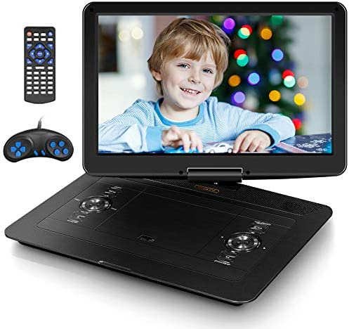 "Jekero 17.9"" Portable DVD Player with 15"
