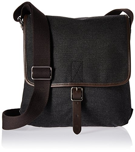 Fossil Men's Buckner Ns City Bag, Buckner City Bag-Black by Fossil