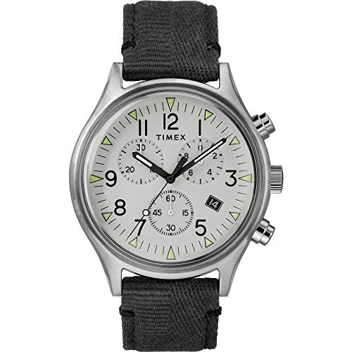 Timex MK1 Green Dial Canvas Strap Men's Watch TW2R68800